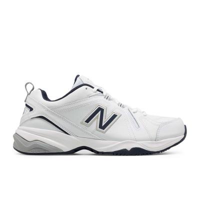 Adidasi sport New Balance MX608 pentru Barbati alb bleumarin