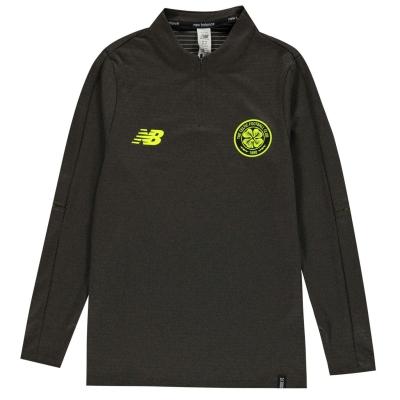 Bluza de corp New Balance Celtic FC Juniors verde marl