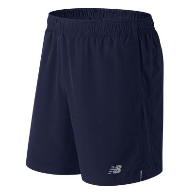 Pantaloni scurti New Balance Core 7inch alergare pentru Barbati bleumarin