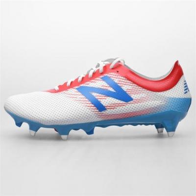 Ghete de fotbal New Balance Furon 2.0 Pro SG pentru Barbati portocaliu negru alb