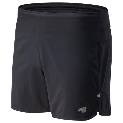 Pantaloni scurti New Balance Impact Run 5inch pentru Barbati negru