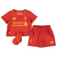 Costumase bebelusi cu echipe fotbal New Balance Liverpool 2016 2017