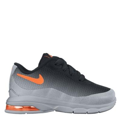 Nike Air Max Invigor Print (TD) baietei negru portocaliu