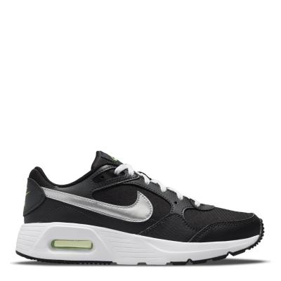 Nike Air Max SC Big Shoes pentru Copii negru argintiu verde