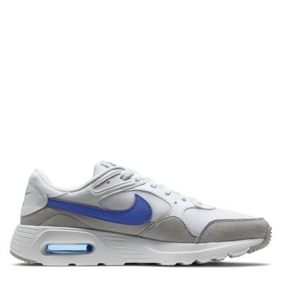 Nike Air Max SC Shoe pentru Barbati alb game albastru roial wolf gri