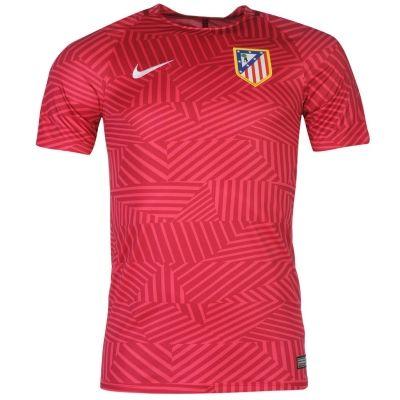 Tricouri Nike Atletico Madrid Pre Match pentru Barbati roz fucsia rosu