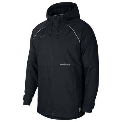Jacheta Nike AW Fan fotbal pentru Barbati negru alb