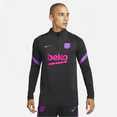Nike Barcelona Strike Drill Top 2021 2022 negru