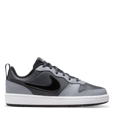 Nike BOROUGH LOW 2 SE (GS) gri inchis blackgry