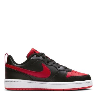 Nike BOROUGH LOW 2 SE (GS) negru rosu alb