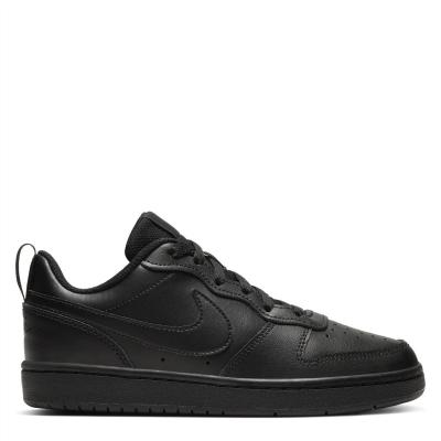 Nike BOROUGH LOW 2 SE (GS) triple negru