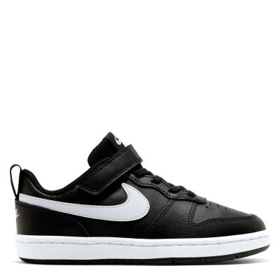 Nike BOROUGH LOW 2 SE (PSV) negru alb
