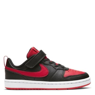 Nike BOROUGH LOW 2 SE (PSV) negru rosu alb