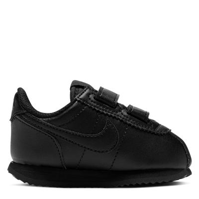 Nike Nike Cortez Basic SL (TD) Shoe pentru Bebelusi triple negru