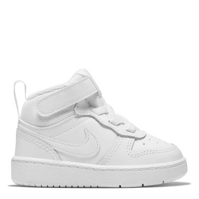 Nike Court Borough Mid 2 / Shoe pentru Bebelusi pentru Bebelusi alb
