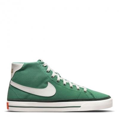 Nike Court Legacy Mid Canvas Shoe pentru Barbati verde alb