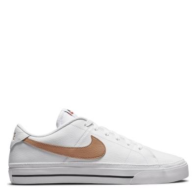 Nike Court Legacy Shoes alb maro
