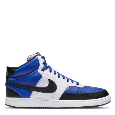 Nike Court Vision Mid Shoe pentru Barbati albastru negru alb nba