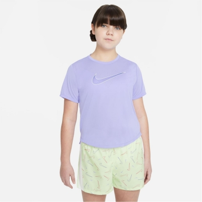 Nike Df One Ss Top Jn99 mov verde lime