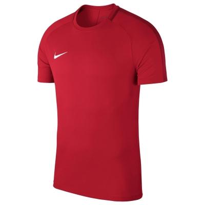 Nike Dri-FIT Academy Soccer Short-Sleeve Top pentru Barbati rosu alb