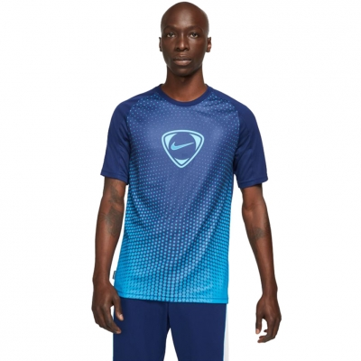 Nike Dri-Fit Academy Top SS FP JB bleumarin DA5568 492 pentru Barbati