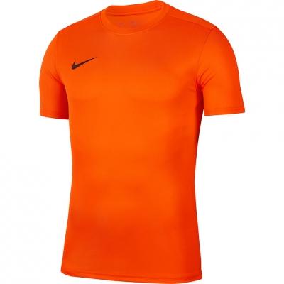 Nike Dry Park VII JSY SS portocaliu barbati BV6708 819