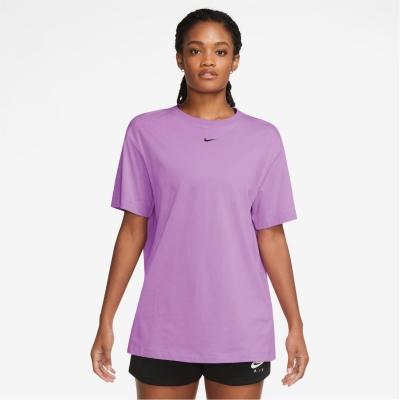 Nike Essential Tee violet negru