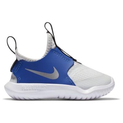 Nike Flex Runner / Shoe pentru Bebelusi pentru Bebelusi gri argintiu albastru roial
