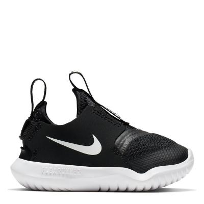 Nike Flex Runner / Shoe pentru Bebelusi pentru Bebelusi negru alb