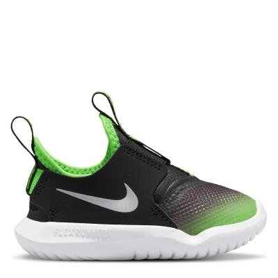 Nike Flex Runner / Shoe pentru Bebelusi pentru Bebelusi negru argintiu verde