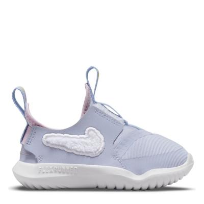 Nike Flex Runner Shoes pentru fete pentru Bebelusi gri alb dream