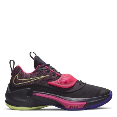 Nike Freak 3 baschet Shoe mov galben