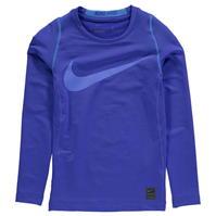 Tricou cu Maneca Lunga Nike HyperWarm pentru baietei