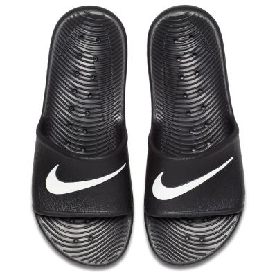 Nike Kawa Shower Shoes pentru Barbati negru alb