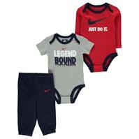 Nike Legend Bodysuit Set pentru baieti pentru Bebelusi