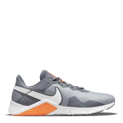Nike Legend Essential 2 antrenament Shoe pentru Barbati gri alb portocaliu