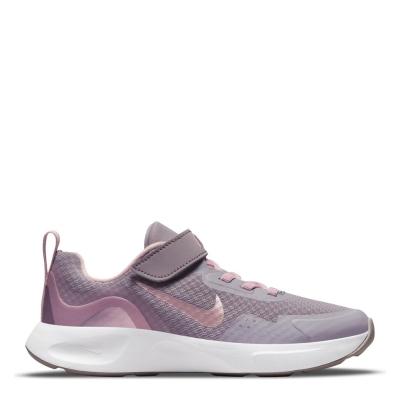 Nike Little Shoe pentru Copii violet roz
