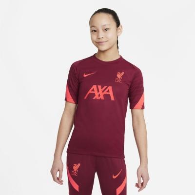 Nike Liverpool Strike Top 2021 2022 pentru copii rosu