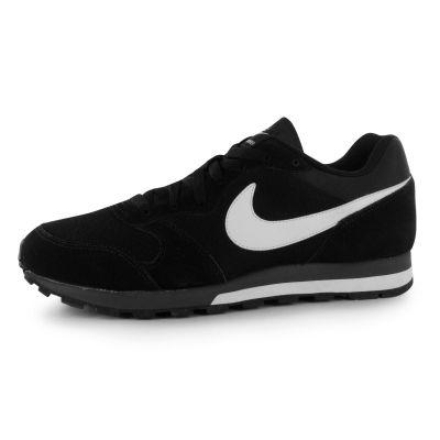 Nike MD Runner Textile pentru Barbati negru alb