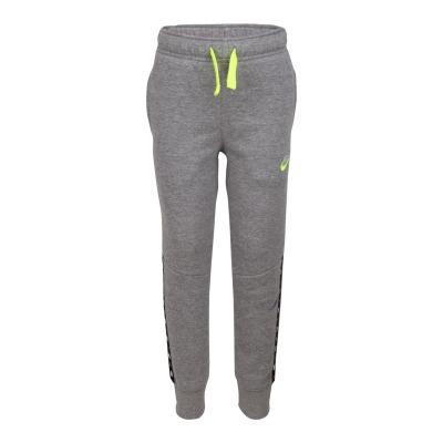 Pantaloni sport Nike Micro Swoosh baietei gri carbon deschis