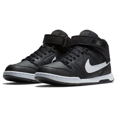 Adidasi sport Nike Morgan 2 Mid pentru baietei negru alb