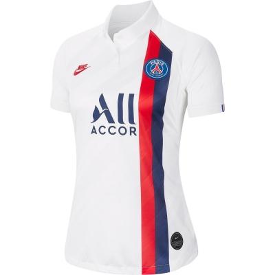 Nike Paris Saint Germain 3rd Jersey pentru Femei alb albastru rosu