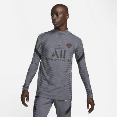 Nike Paris Saint Germain European Elite Drill Top 2021 2022 gri inchis negru