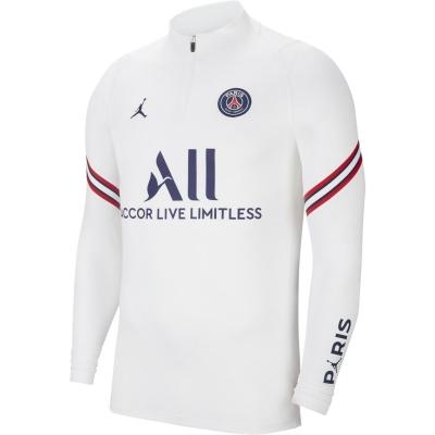 Nike Paris Saint Germain x Jordan Strike Drill Top 2021 2022 pentru Barbati alb