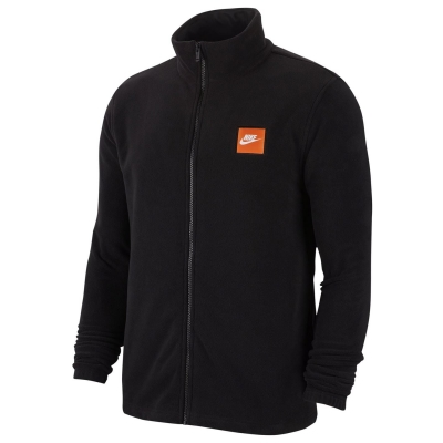 Bluza termica Nike Polar pentru Barbati negru alb