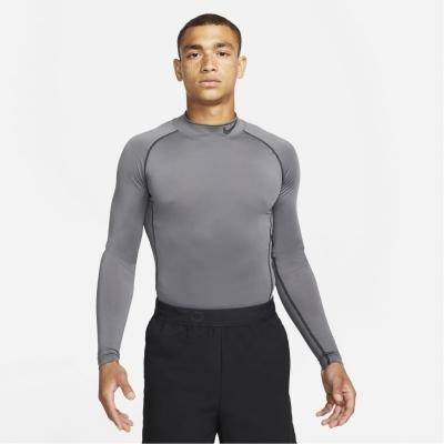 Nike Pro Long-Sleeve Top pentru Barbati gri