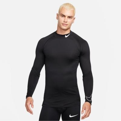 Nike Pro Long-Sleeve Top pentru Barbati negru