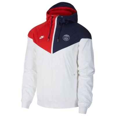 Nike PSG WRun JktSn01 alb bleumarin
