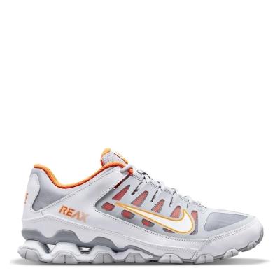 Nike Reax 8 TR antrenament Shoe pentru Barbati gri alb portocaliu