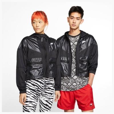 Jacheta Geaca pentru vant Nike Rebel pentru Femei negru